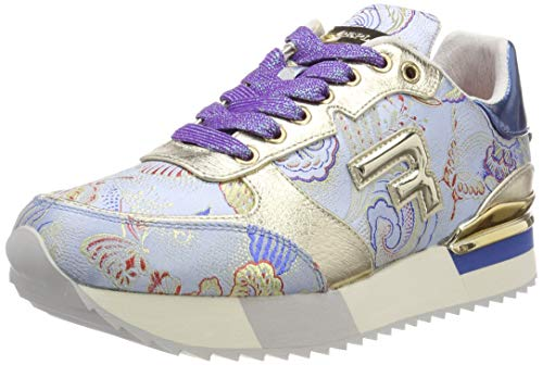 Replay Damen WILLWOOD Sneaker, Blau (Blue 10), 39 EU