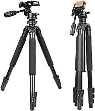Gosky Tripod -Travel Portable Tripod for Spotting scopes, Binoculars, camcorders, or SLR Cameras (Pro Tripod (61-inch))