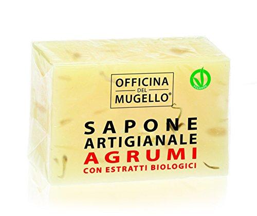 SAPONE SOLIDO AGRUMI 100 g - OFFICINA DEL MUGELLO
