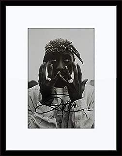 tupac autograph
