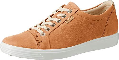 Ecco Damen Soft 7 Ladies Sneaker, Braun (Cashmere), 40 EU
