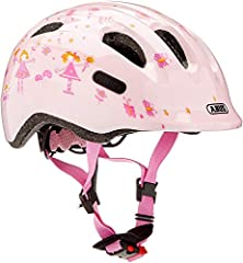 ABUS Unisex Ungdom SMILEY 2,0 Cykelhjälm, ros prinsessa, S