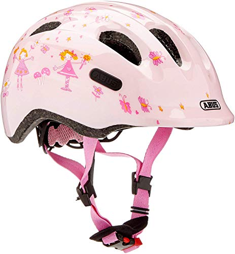 ABUS Smiley 2.0 Kleinkinder-und Kinderhelm, Niños, Rose Princess, S