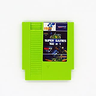150 in 1 NES Super Games Multi Cart 72 Pin - LATEST VERSION - GREEN - LIMITED EDITION