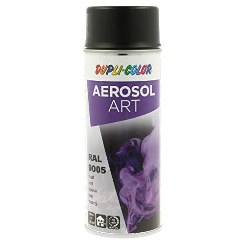 DUPLI-COLOR 733161 AEROSOL ART RAL 9005 tiefschwarz matt 400 ml