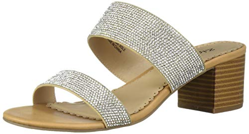 ZiGi Soho Women's CEELEY Slide Sandal, Camel, 9 Medium US