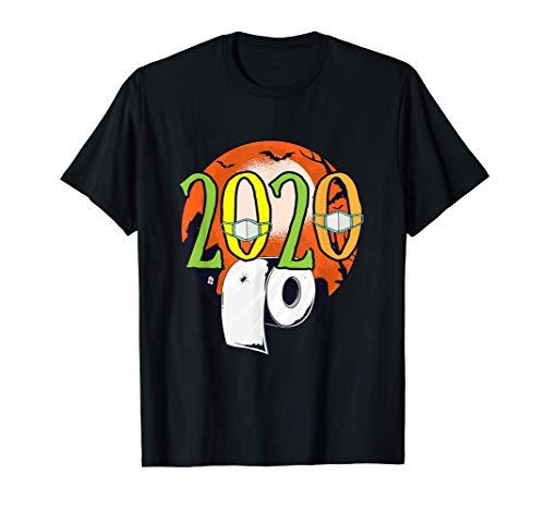 2020 Calabaza con mscara I Papel higinico I Halloween Camiseta