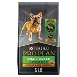 Purina Pro Plan Small Breed Dog Food With Probiotics for Dogs, Shredded Blend Chicken & Rice Formula - 6 lb. Bag (Packaging May Vary)