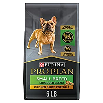 Purina Pro Plan Small Breed Dog Food With Probiotics for Dogs Shredded Blend Chicken & Rice Formula - 6 lb Bag
