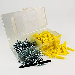 Excellent PA Wall Plugs Kit for Hollow Material and Anchors Solid Materials 500Pcs T.K