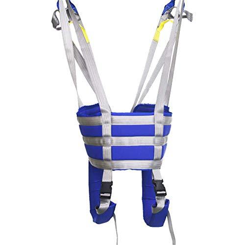 WANGXNCase Cinturón de Transferencia con Lazos de Pierna, Cinturón De Transferencia para Ancianos, Correa Especial para Caminar Eslingas para Elevación De Pacientes Ayuda para Caminar De Pie Cinturón