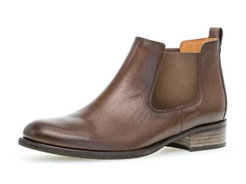 Gabor Damen Stiefelette 31.640, Frauen Chelsea Boots,Stiefel,Halbstiefel,Bootie,Schlupfstiefel,flach,Mohair (Effekt),39 EU / 6 UK
