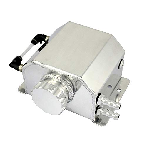KKmoon 1L Depósito de Aceite de Motor Universal para Latas, Tanque de Depósito