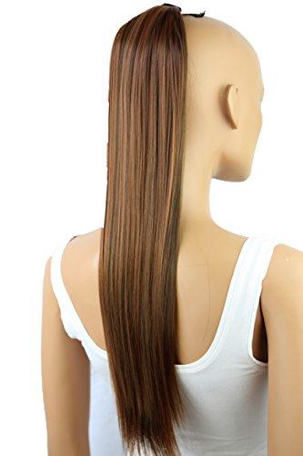 PRETTYSHOP 60cm clip en extensions postiche extension de cheveux lisse résistant à la chaleur variation HC27