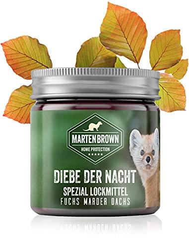 Martenbrown® ladrones en la noche de gel cebo para martas, zorros, tejones, mapaches / perfume Fuchs / atrayente cebo para las trampas / Marderlockmittel de trampas en vivo, cebo para atrapar la marta