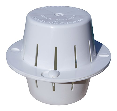 Sinking Pool Chlorine Dispenser | Sinks to the Bottom, Cleans Pool Water, Then Floats to the Top | Uses Less Chlorine | Less Chlorine Odor | The Sunken Treasure (White)