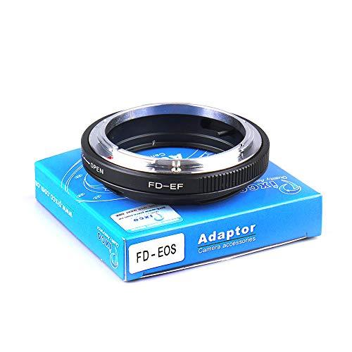 Pixco - Adaptador de objetivo para Canon EOS 4000D 2000D 6D II 200D 77D 5D IV 1300D 80D 1DX II 5DS 760D 750D 7DII 1D 6D 7D 7D 7D 7D