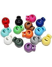 Pixnor Koordstopper, rond, bolwip, kunststof, willekeurige kleurkeuze, 25 stuks