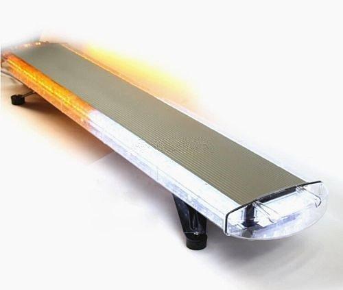106,7 cm 80 W Barre lumineuse LED d'urgence lumière stroboscopique Flash Balise d'avertissement Couleur ambre clair 15 Flash Patterns gratuit DHL frais d'expédition