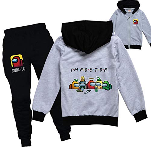 Among US Clothes Set Kids Jacket and Pants 2pcs Suits Children's Clothing Sweatshirts for Baby Hoodies Toddler Girls Outfits