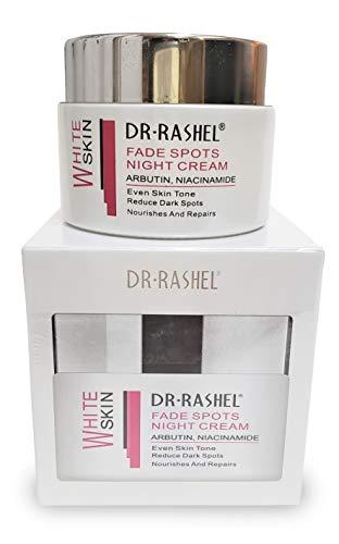 Dr Rashel Fade Spots Night Cream , Reduce Dark Spots , Moisturizers , Nourishes and Repairs Skin , Size 1.76 oz Jar