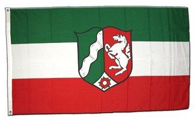 Flagge Deutschland Nordrhein Westfalen - 60 x 90 cm
