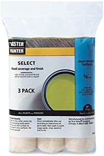 Synthetic Lambskin//Polyester Cover Linzer RS1433 Pylam Paint Roller 3//8 in Nap Medium 9 in L