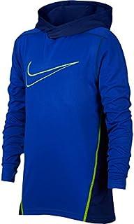 (ナイキ) Nike Performance Long Sleeve Hooded Top ボーイズ?子供 シャツ?トップス [並行輸入品]