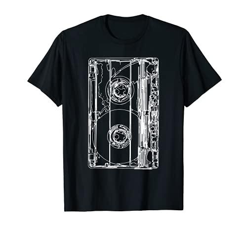 Costume des années 90 Cassette Rétro T-Shirt
