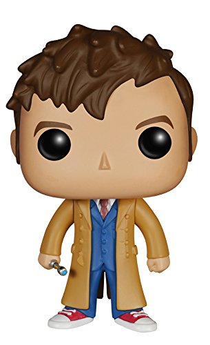 BBC Funko - Figurine Doctor Who - 10e Doctor Pop 10cm - 0849803046279