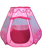 Toyshine Foldable Kids Children's Ball Pit Indoor Outdoor Pop Up Play Tent House Toy