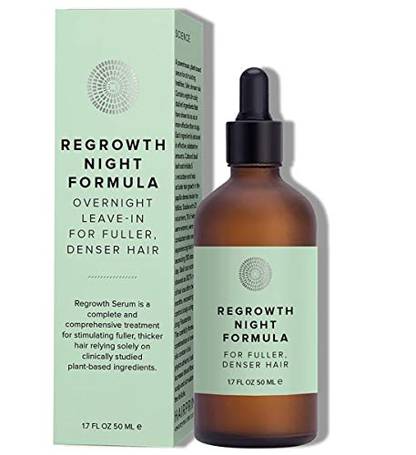 Hairprint - Natural Hair Regrowth Serum NIGHT Formula | Clean, Non-Toxic Haircare (1.7 fl oz | 50 ml)