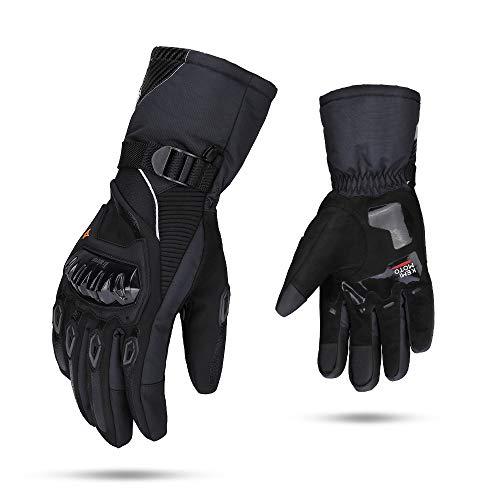Guantes Moto Invierno Impermeable Pantalla Táctil