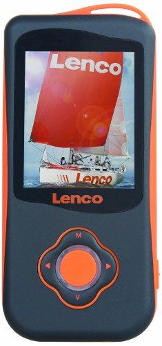 Lenco Podo-151 MP4-Player mit Schrittzähler 4GB (4,6 cm (1,8 Zoll) TFT-Display, SD, ID3 Tag, Aufnahmefunktion, USB)
