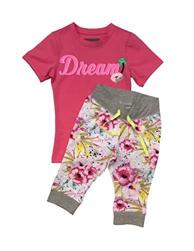 Vingino Mädchen VP2 Pyjama Schlafanzug mit unterschiedlichen Motiven 158-164 / XL