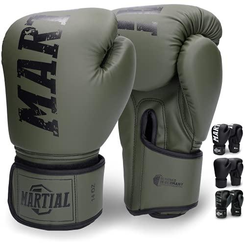 Martial Gants de Boxe en Matériau de la Meilleure Qualité po