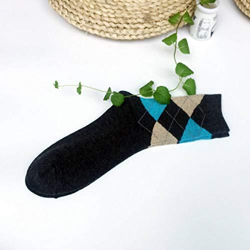 Générique Bedruckte Socken, Bunte Socken, Funky Crew aus Baumwolle, Muster: Harajuku Neuheit Fashion Art Schwarz Unisex Damen