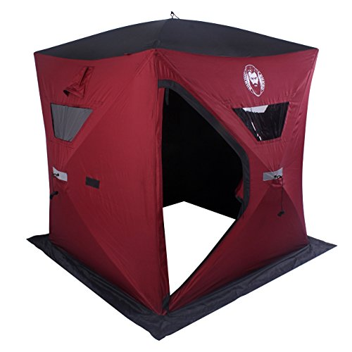 Nordic Legend Two Man Ice Shelter with FREE Bonus Ice Chairs!