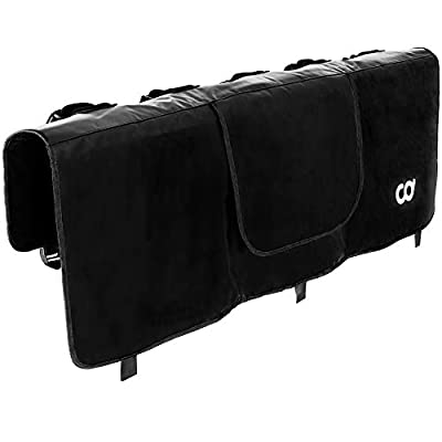 "CyclingDeal Tailgate Bike Pads - Bicycle Rack Cover for Pickup Truck - Truck Bed Car MTB Carrier - Great for Mountain Bikes - Size M (5 Bikes) 54"" Wide"