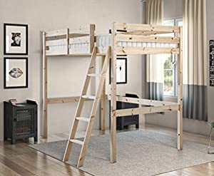 Strictly Beds and Bunks - Celeste High Sleeper Loft Bunk Bed, 2ft 6 Single