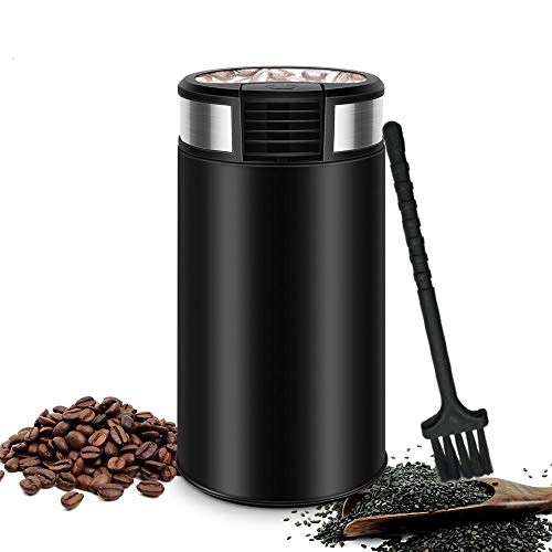 Grind Electric Coffee Grinder, Durable Stainless Steel Blades, for Coffee Beans, Spices, Nuts and Grains – Beans, Spices and More, 220V