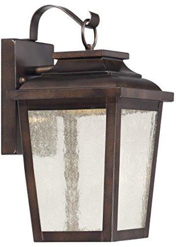 Minka Lavery 72171-189-L Irvington Manor Outdoor Wall Sconce, 1-Light LED 13 Watts, Chelesa Bronze