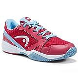 Head Sprint 2.5 Junior, Scarpa da Tennis Gioventù Unisex, Magenta/Light Blue, 065