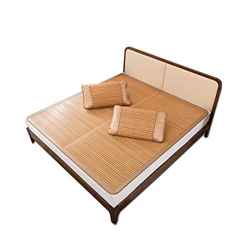 YXF-Rattan mat bamboe mat zomer familie kiezen bamboe matras dubbelzijdig mat bamboe mat koele antiaanbaklaag ijs zijde mat Cool in de zomer