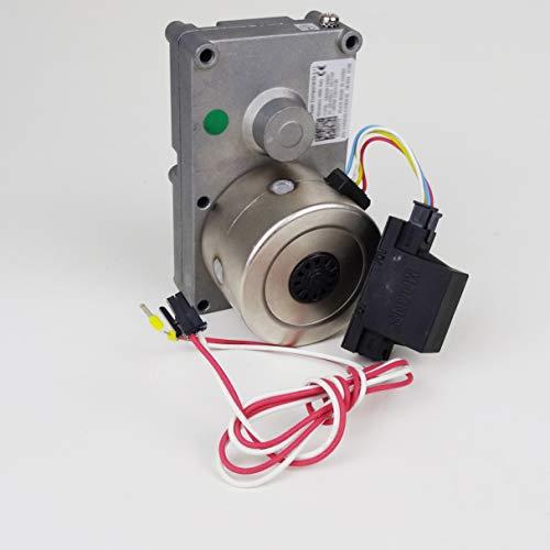 Getriebemotor Schneckenmotor für viele gängige Pelletofen von Haas+Sohn inklusive Kondensatorkabel