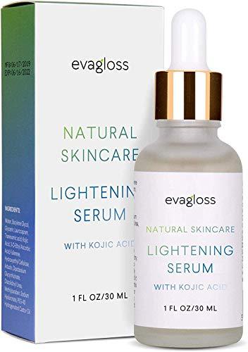 Lightening Serum with Kojic Acid, Dark Spot Corrector Remover for Face & Body,...
