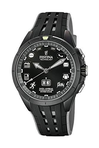 Festina Technology - Reloj Bluetooth para Hombre Color Negro