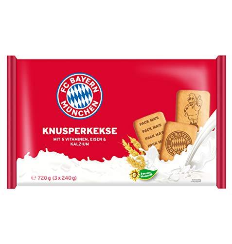 FC Bayern München Knusperkekse 720g (3x240g)