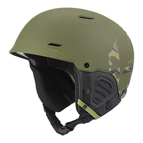 Bollé Unisex– Erwachsene Mute Skihelme Green 59-62 cm, Camo David Wise Signature Series Matte, Large