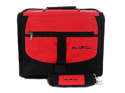 Microsoft Xbox One Deluxe Console Carry Bag/Case by The TGC ® (Crimson Red & Black), [Importado de UK]